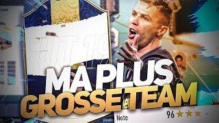 FIFA 19 - MA TEAM A 196 EN FUT CHAMPION ! COLLINS 86 UN SUPERSUB DE LUXE !