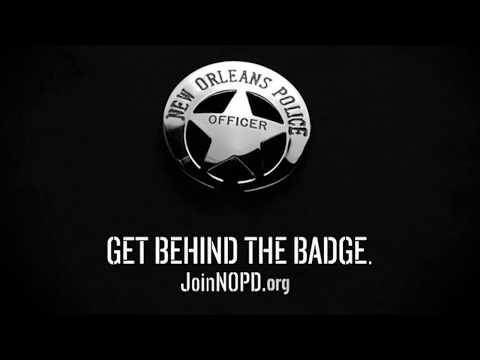 """New Orleans Police Department - """"Get Behind the Badge"""" 30-Seconds"""