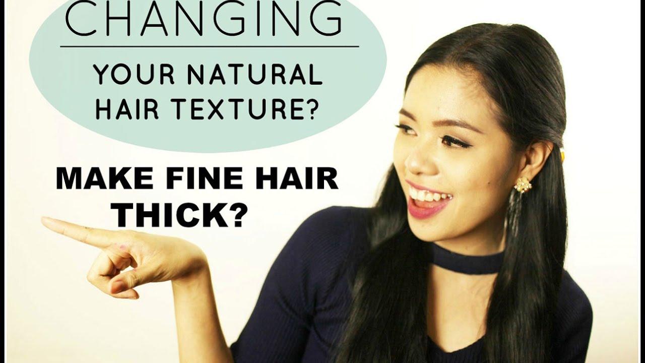 make fine thin hair