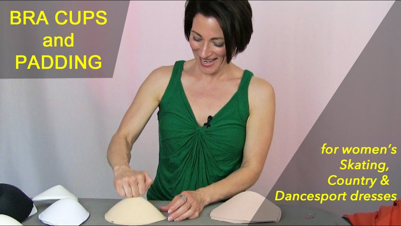 78bbf70946 BRA CUPS   PADDING  How To Make Your Competition Ballroom