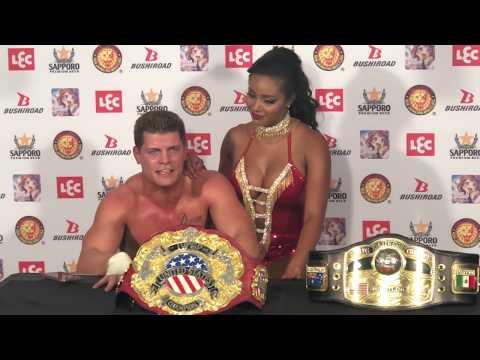 NWA World Champion Cody Rhodes On Winning IWGP US Title At NJPW Long Beach