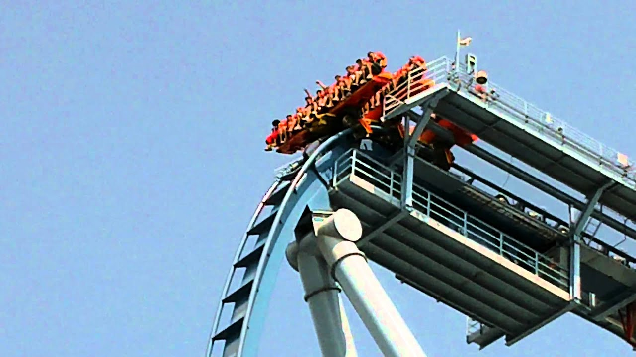 Griffon roller coaster busch gardens sick drop youtube - Roller coasters at busch gardens ...