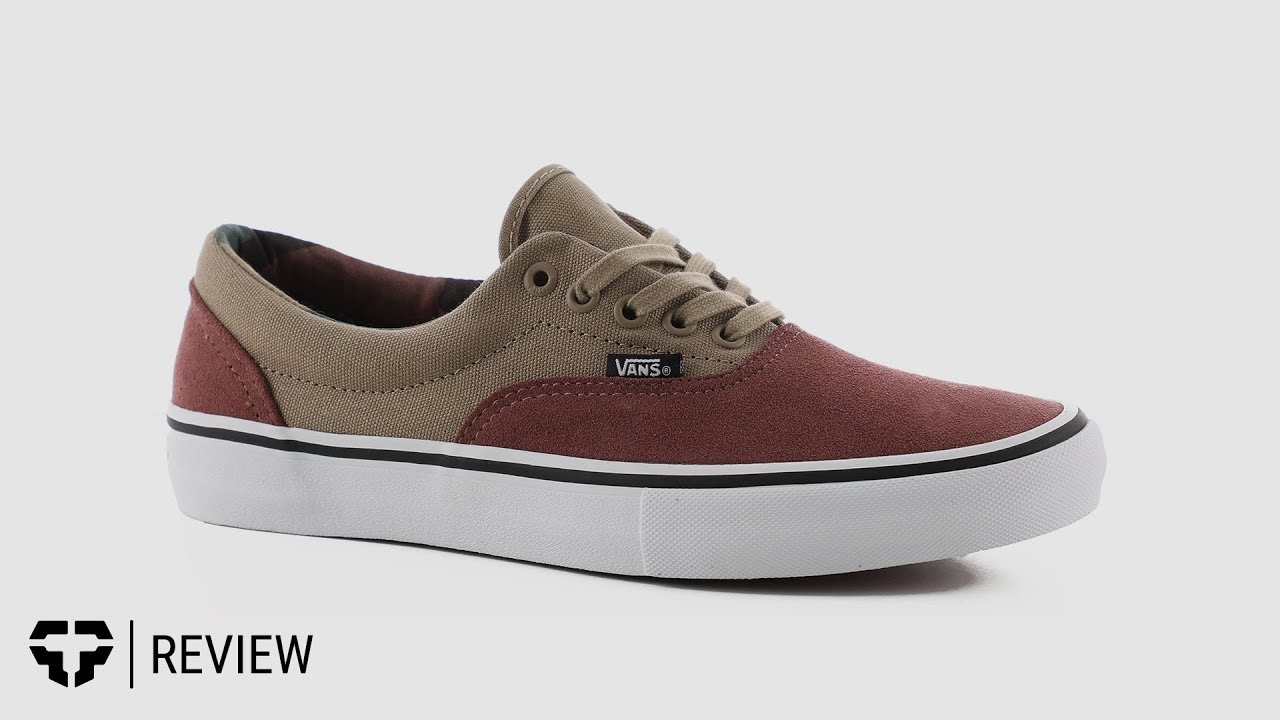 6a12ec5840580 Vans Era Pro Skate Shoes - Free Shipping | Tactics