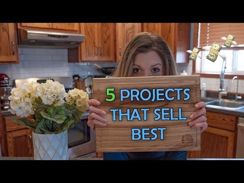 5 Projects That You Can Sell | Woodworking Business