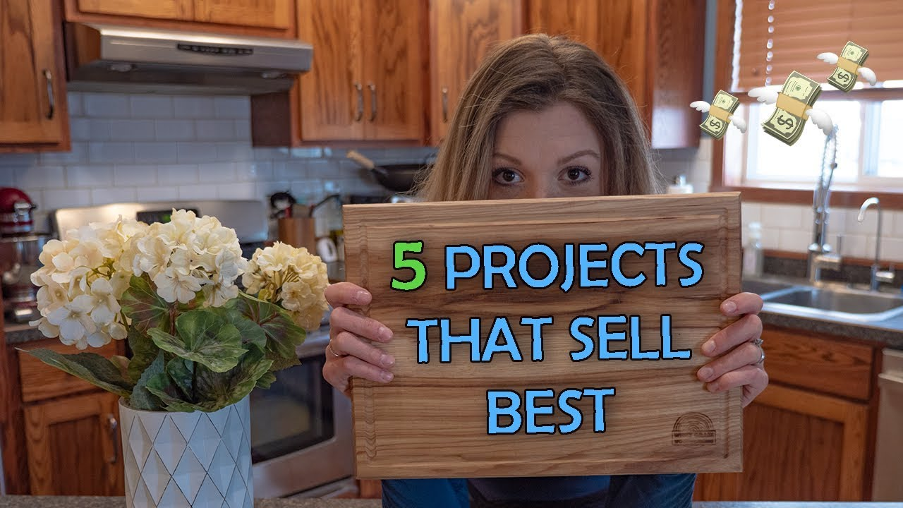 5 Projects That You Can Sell Woodworking Business Youtube