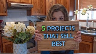 5 Projects That You Can Sell   Woodworking Business