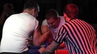 Armwrestling open cup 2015 95+