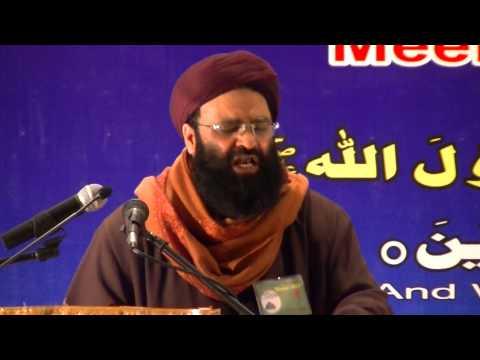 Mukhtar Shah Naeemi Ashrafi, Speech