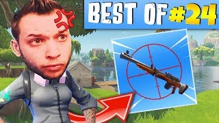 CARBON DIEU DES HEADSHOTS🎯, MICKALOW RAGE CONTRE UN BAMBI ► BEST OF FORTNITE FRANCE #24