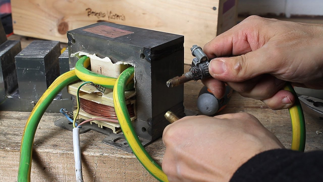 Diy Spot Welding Machine Youtube