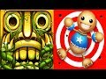 Temple Run 2 Sky Summit VS Kick the Buddy Android iPad iOS Gameplay HD
