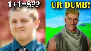 Dumbest Kid Takes A Fortnite Quiz.. (HE CRYS)