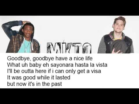 MKTO - Goodbye Song (Lyrics On Screen)