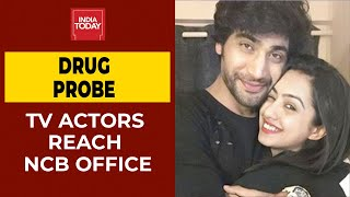 Bollywood Drug Nexus: TV Actors Sanam Johar & Abigail Pande Reach NCB Office | Breaking News