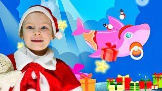 Baby Shark Christmas | Kids Songs & Nursery Rhymes | Christmas Sharks Song for Kids