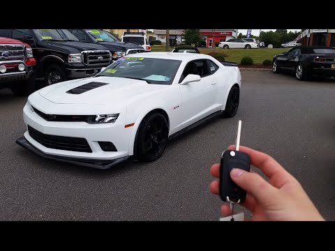 2014 Chevrolet Camaro Z28: Start Up, Exhaust and Review - YouTube