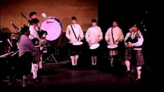 Bagpipes drums Scotland the Brave - Colorado Highlanders