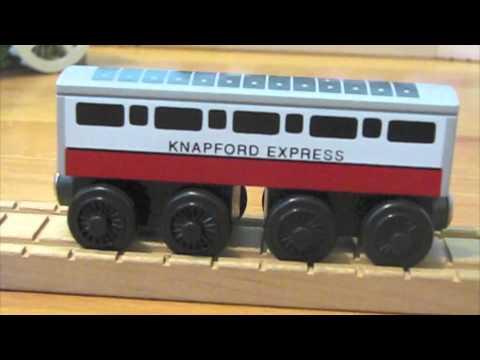 Thomas Wooden Railway Discussion Nib Knapford Express Coach