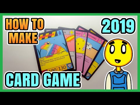 How To Make A Card Game 2019