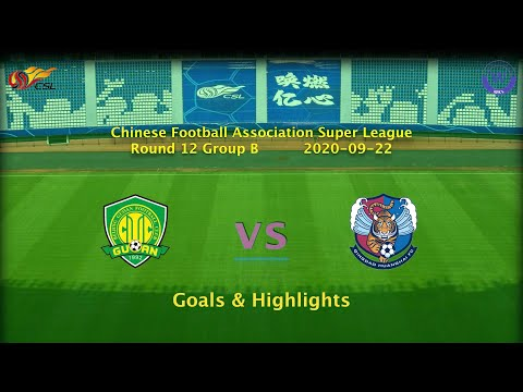 Beijing Guoan Qingdao Huanghai Goals And Highlights