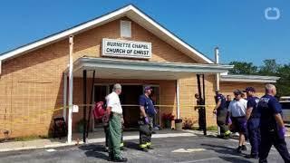 1 dead, 8 hurt in church shooting thumbnail