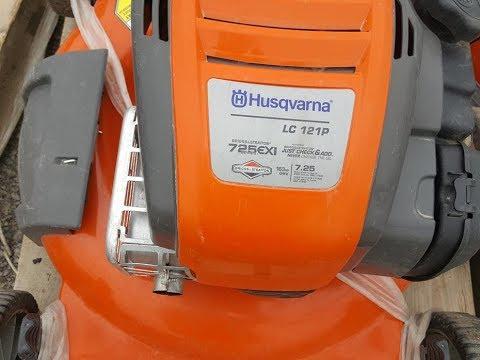 Fix-It Friday: Husqvarna LC 121P Pushmower Carb Clean