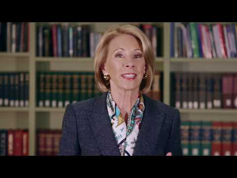 Secretary DeVos Announces New Title IX Regulation