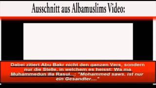 AlbaMuslims widerlegt - Alle Propheten vor Muhammed (saw) sind verstorben!