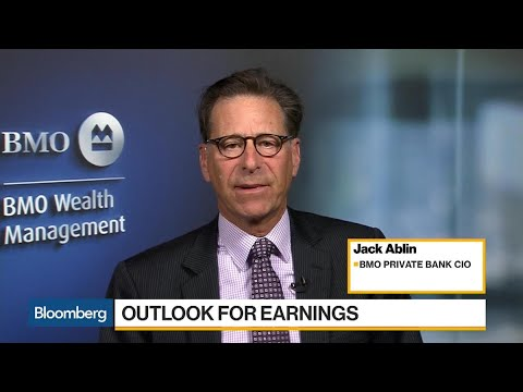 BMO's Ablin Says Earnings, Not Taxes Push 3% Growth