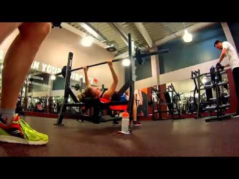 Bankdrücken Fitness Challenge Fitx Hörde für #fittest16