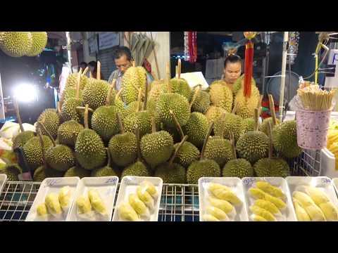 Thailand Street Food Chinatown Night Market