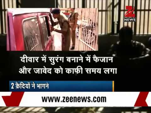 2 prisoners escape Tihar jail, 1 nabbed by police