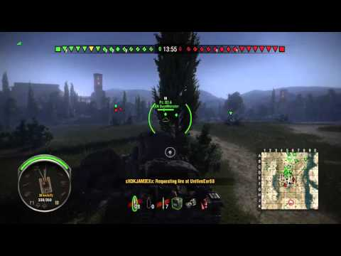 XBOX ONE WORLD OF TANKS GAMEPLAY KILL MONTAGE PART 1