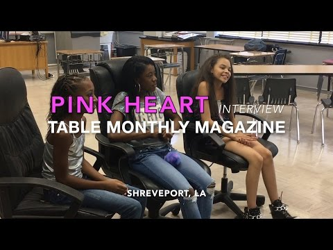 Pink Heart Interview! (Shreveport Louisiana)