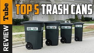 ✅Trash Can: Best Outdoor Trash Can 2018 (Buying Guide)
