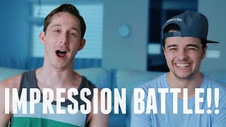 IMPRESSION BATTLE!! (ft Mikey Bolts)
