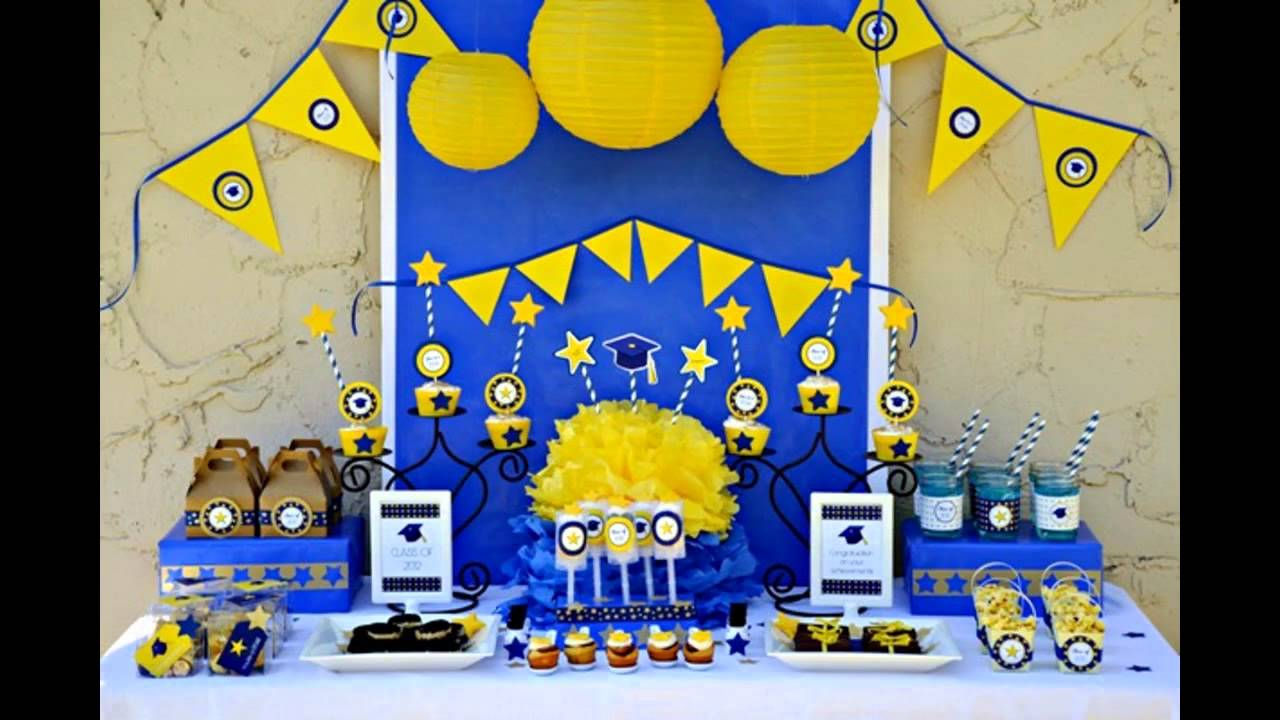 Cool Graduation Party Decorations Youtube