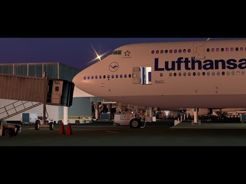 The Eagle Has Landed - SSG 747-8 Freighter X-Plane 10! by ion fresko
