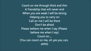 Download Lagu count on me whitney houston cece winans karaoke instrumental with lyrics mp3
