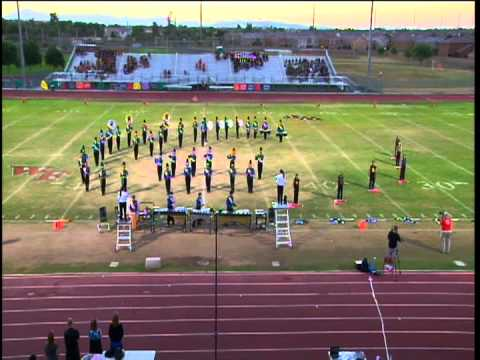 Carl Hayden High School Falcon Band State Marching Festival 2012 Mangione Magic
