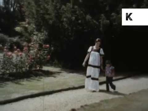 1970s Pregnant Woman, Mother and Child, Archive Footage