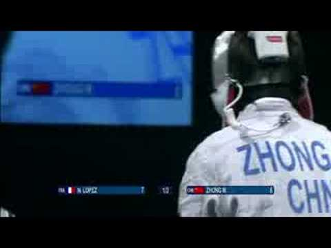 France vs China - Fencing - Men