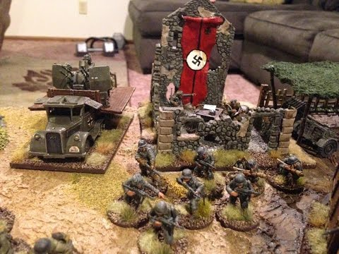 Bolt Action #74 SECOND EDITION tournament round 4 United States vs Germany