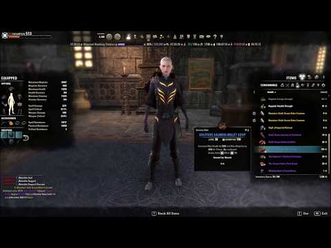 Elder Scrolls Online -  Sixth House Robe