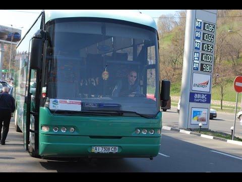 Ехала я в Москву на автобусе из К и е в а.