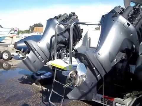 Engine Survey on Two 2011 Yamaha 350 HP Outboard Engines - Marine Surveyor Palm Beach