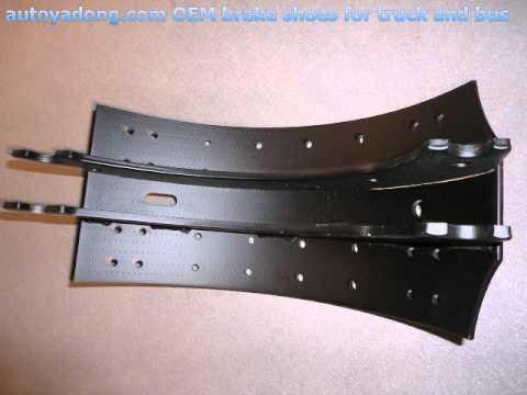 brake shoes,and shoe brake 4515,brake shoes 4707,brake shoes 4709,benz  brake shoes