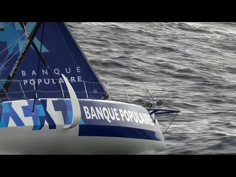 World on Water Vendee Globe Report Jan 17 17 Day 72 French Airforce footage of leaders