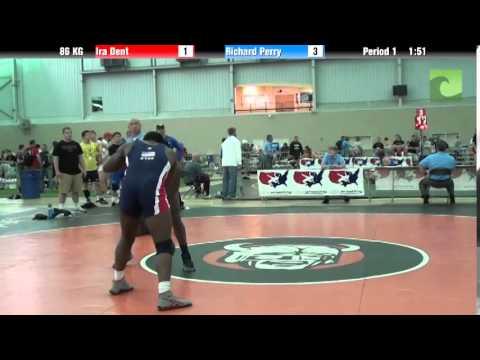 Men`s Freestyle 86 KG Ira Dent vs. Richard Perry
