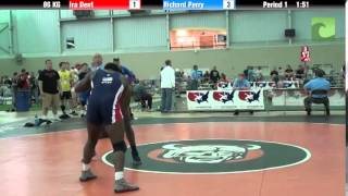 Men`s Freestyle 86 KG Ira Dent vs. Richard Perry